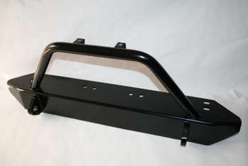 TJ/YJ Front Bumper, Stubby with Light Bar and Shackle Mounts picture