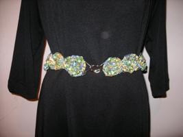 Lurex Ribbon Conch Belt picture