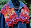 Barb Ann Denim Lace Stole Kit
