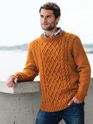 Pattern 28608 Aran Pullover