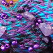 Chakra - Purple/Turquoise (9207)
