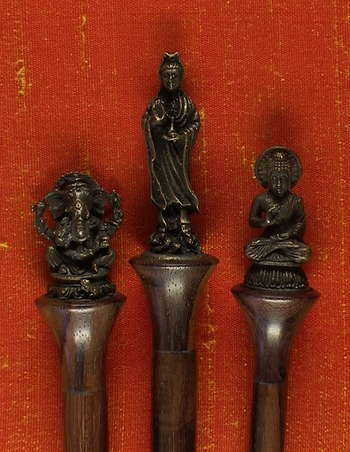 Deity Bronze Cast Needles picture