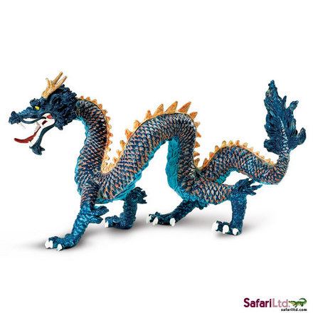 Dragons Blue Chinese Dragon picture