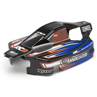 Team Associated RC8RS RTR Pre-printed Bodyshell - Black picture