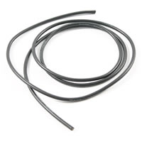 Etronix 14Swg Silicone Wire Black (100Cm) picture