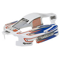 Team Associated RC8RS RTR Pre-printed Bodyshell - White picture