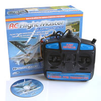 RealityCraft RC Flight Master Extreme 64 Simulator w/USB Mode 1 6-channel Transmitter picture