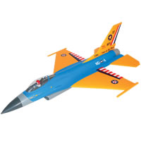 Alfa Model F-16 (Yellow/Blue) picture
