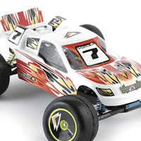 Upgrade Flame' Decal Set for Traxxas Revo Crowd Pleazer body picture