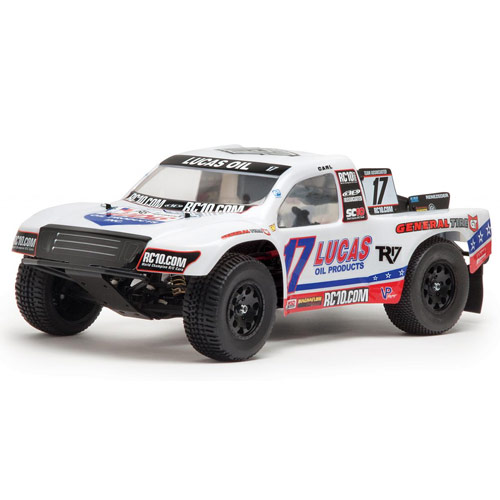 Team Associated Sc10 Rs Rtr Lucas Oil Brushless W/2.4Ghz/W/Proof picture