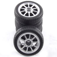 Carisma M14 Vw Golt GTi Cup Preglued Wheel & Tyre Set picture