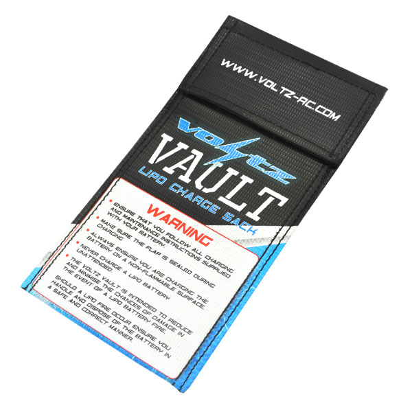 Voltz Vault LiPo Battery Charge Safety Sack - Small picture