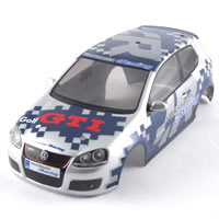 Carisma GT14 Pre-Painted Vw Golf GTi Cup Bodyshell picture
