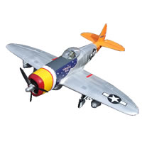 Fms P47 Thunder Artf W/Retract & Flaps - W/O Tx/Rx/Battery picture