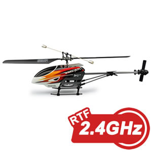 Hubsan Invader Fixed Pitch RTF Helicopter with 2.4GHz Radio System picture
