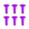Fastrax M3 X 8Mm Self Tapping Purple Alum (6)