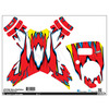 Upgrade Dji Phantom 1 & 2 Skins Red/Yellow