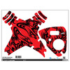 Upgrade Dji Phantom 1 & 2 Skins Kabuki Red