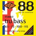 RS 88LD - Black Nylon Flatwound Standard