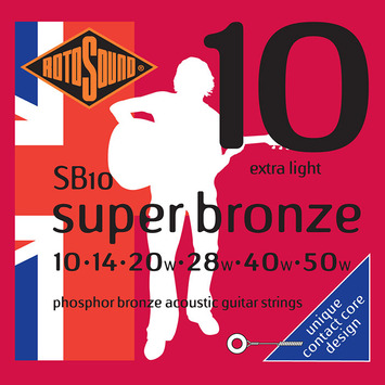 SB 10 - Phosphor Bronze Extra Light picture