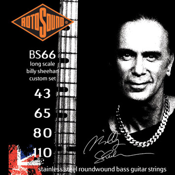 BS 66 - Stainless Steel Billy Sheehan Roundwound picture