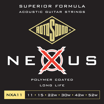 NXA 11 - Coated Phosphor Bronze Light picture