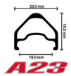 A23 Pro Disc Wheelset 2015 Year Model additional picture 1