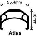 """Atlas - 26"""" - nonMSW"""