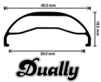 Fat American Dually 27.5""