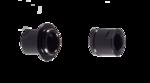 Endcaps - Lightweight ATB Disc Hub - 142x12mm thru-axle