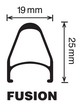 Fusion Rim - 700c - MSW additional picture 1