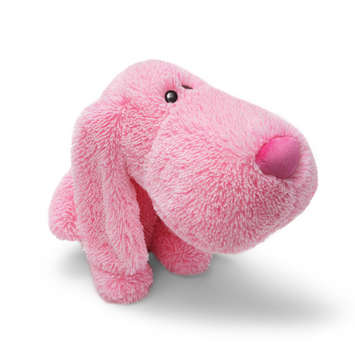SUSAN G KOMEN - Nestly Nuzzles Pink Dog 18&quot; picture