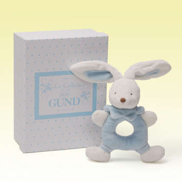 BUNNY RATTLE - Blue picture