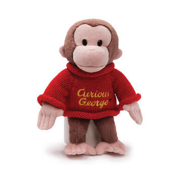 "CURIOUS GEORGE - Winter Sweater 12"" picture"