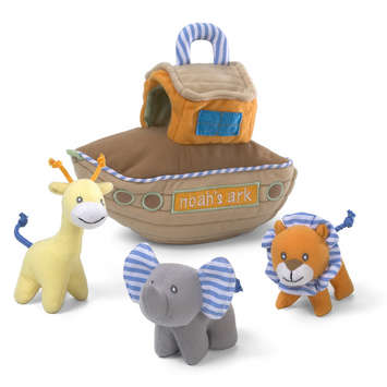 "NOAH'S ARK PLAYSET 8"" picture"