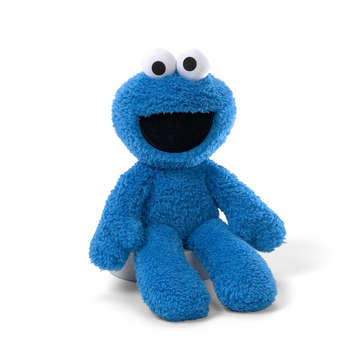 "COOKIE MONSTER TAKE-ALONG BUDDY 13"" picture"