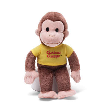 CURIOUS GEORGE 8&quot; picture