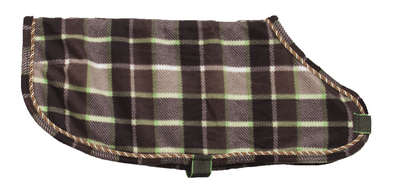 EOUS Plaid Fleece Dog Rug picture