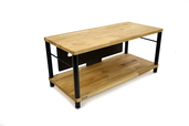 Apollo Storm 10 AV Solid Oak 2 Shelf Base Module