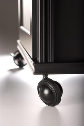 Chameleon Saturn wheels, set of 8, Black picture