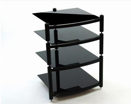 Equinox Hi Fi RS 4 shelf rack with FREE ISOLATION CONE PACK