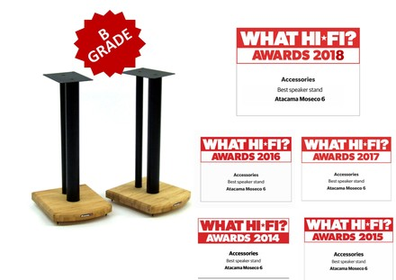 """Moseco Speaker Stands """"B"""" Grade (Pair) picture"""