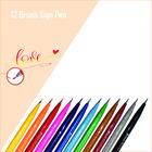 Brush Sign Pen Standard 12 Farben