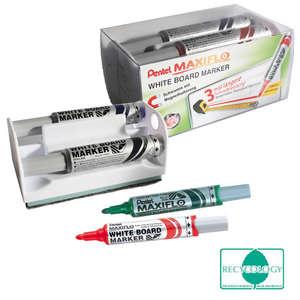 MAXIFLO Whiteboard Marker 6.0mm 4er-Set in Box Bild