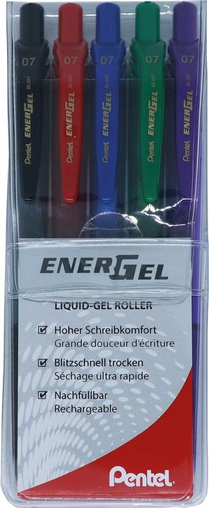 EnerGel Roller X 0.7mm, 5er Set Bild