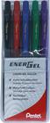 EnerGel Roller X 0.7mm, 5er Set