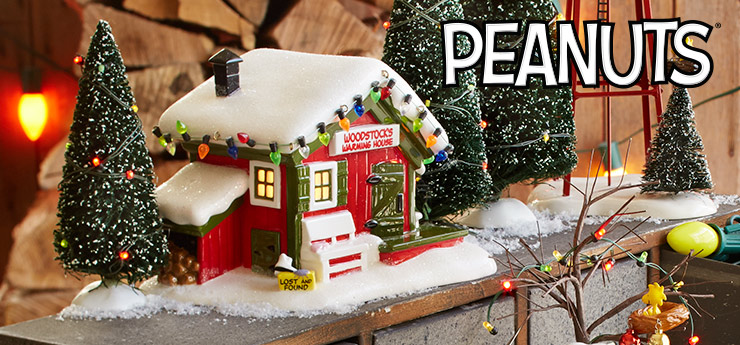peanuts appeal to every generation with simple everyday wisdoms wit and unique perspective on life enduring icons like snoopy and charlie brown - Department 56 Peanuts Christmas