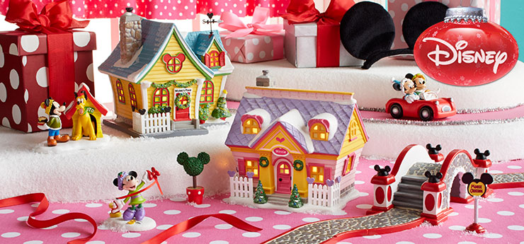 a place where christmas fills the air and holiday preparations never end mickeys christmas village brings holiday magic to
