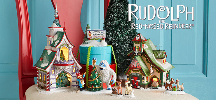 Department56 Canada - Villages, North Pole Village™, Rudolph the ...