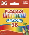Crayons de cire Playskool® - Taille régulière - Assortiment - Ensemble de 36